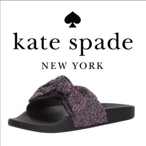 Kate Spade Glitter Sandals